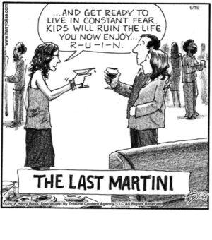 The last Martini...
