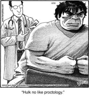 Hulk no like...