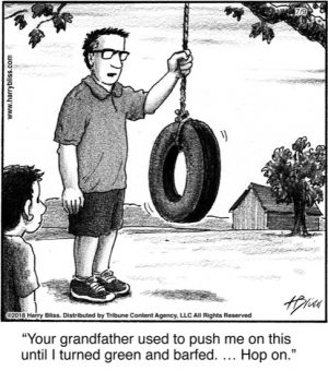 Your grandfather used...