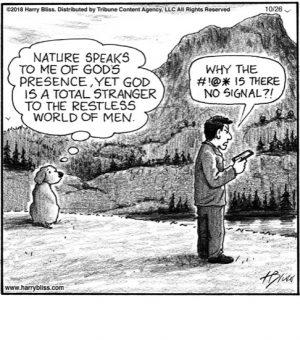 Nature speaks to me...