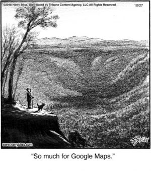 So much for Google Maps...