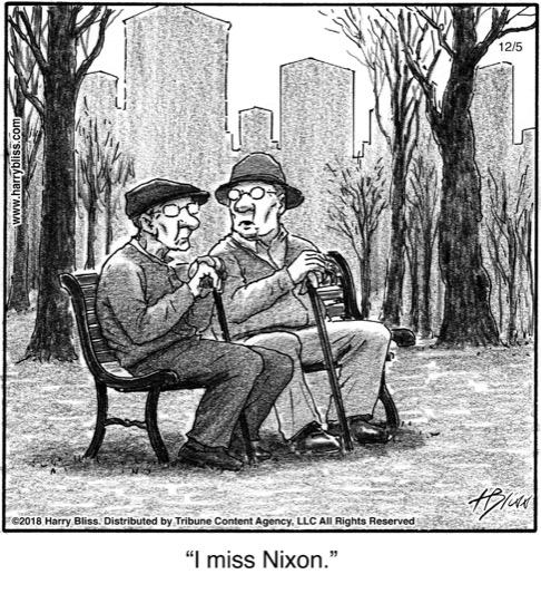 I miss Nixon...