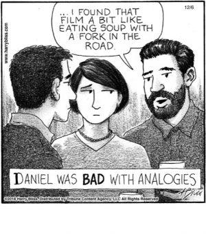 Daniel was BAD...