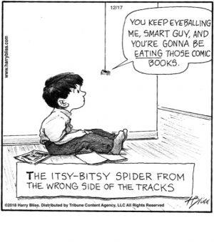 The itsy-bitsy spider...