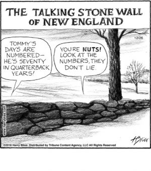 The Talking stone wall of New England...