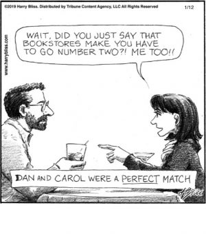 Dan and Carol were a perfect match...