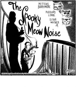 The Spooky Meow noise...
