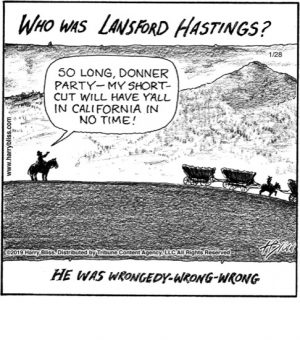 Who was Lansford Hastings?..