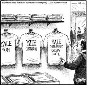Yale Estranged...