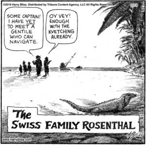 The Swiss Family Rosenthal...