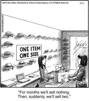 One item one size...