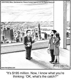 It's $195 million...