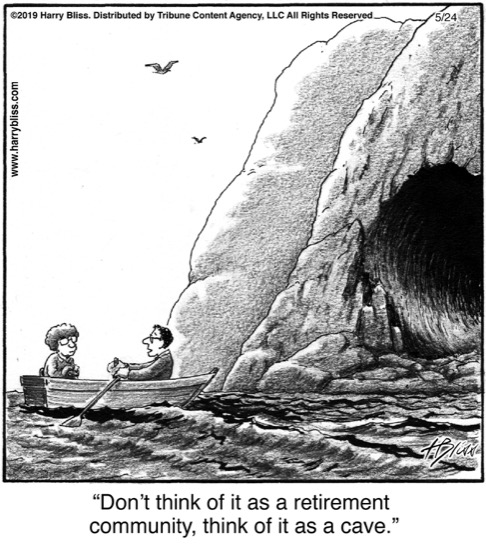 Don't think of it as a retirement...