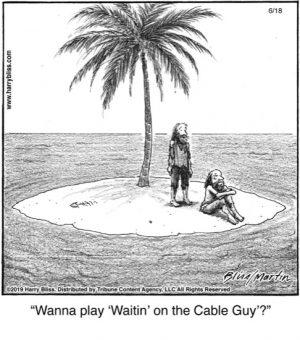 Wanna play 'Waitin' on the...