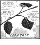 Leaf talk...