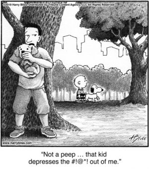 Not a peep that kid...
