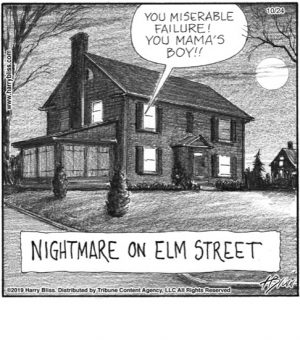 Nightmare on Elm street...