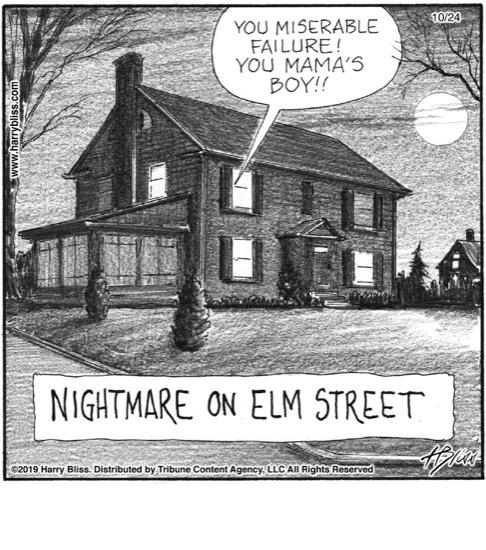 Nightmare on Elm street...