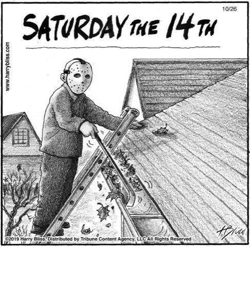 Saturday the 14th...
