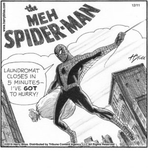 The Meh Spider-man...