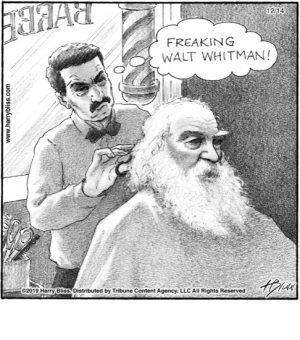 Freaking Walt Whitman!..