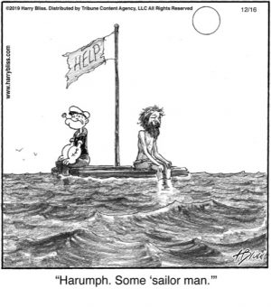 Harumph. Some...