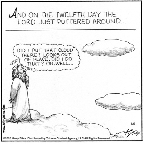And on the twelfth day...