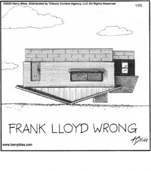 Frank Lloyd Wrong...