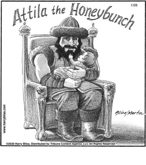 Attila the Honeybunch...