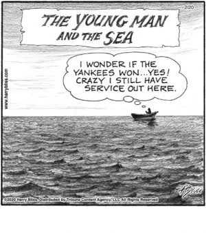 The young man and the sea...