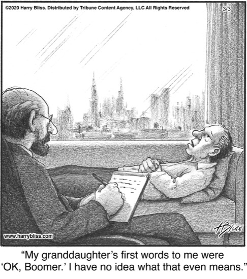 My granddaughter's first words...