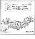On the eighth day...