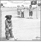 Pirate golf...
