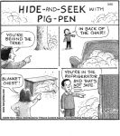 Hide and Seek with Pig-Pen...