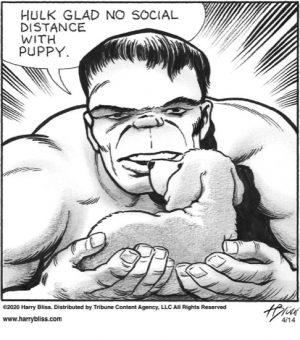 Hulk glad no social distance...