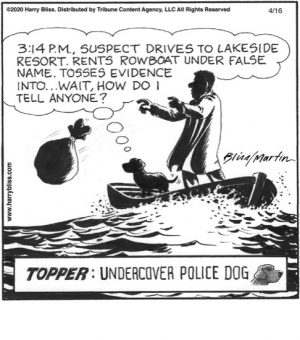 Topper: Undercover Police Dog...