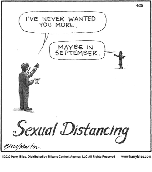 Sexual Distancing...