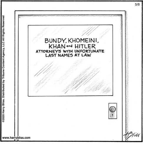 Attorneys with unfortunate last names...