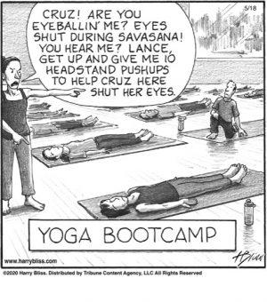 Yoga Bootcamp...