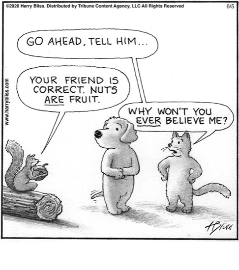 You're friend is correct...