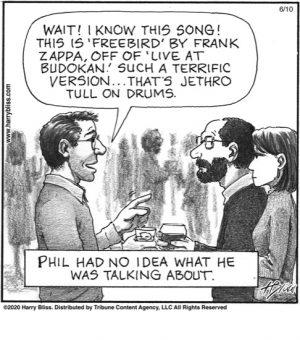 Phil had no idea...