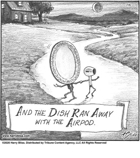 And the Dish ran away...