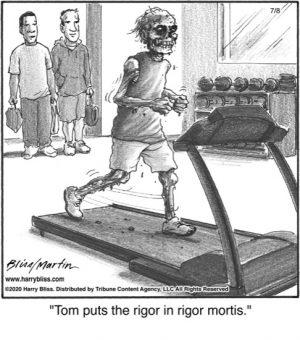 Tom puts the rigor...