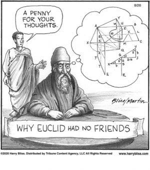Why Euclid had no friends...