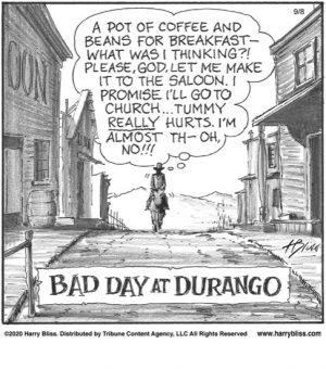 Bad day at Durango...