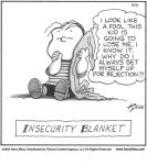 Insecurity blanket...