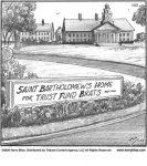 Saint Bartholomew's home...