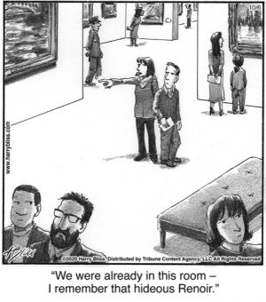 We were already in this room...