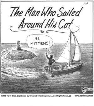 The man who sailed...