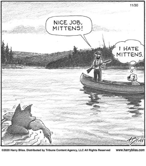 Nice job Mittens...